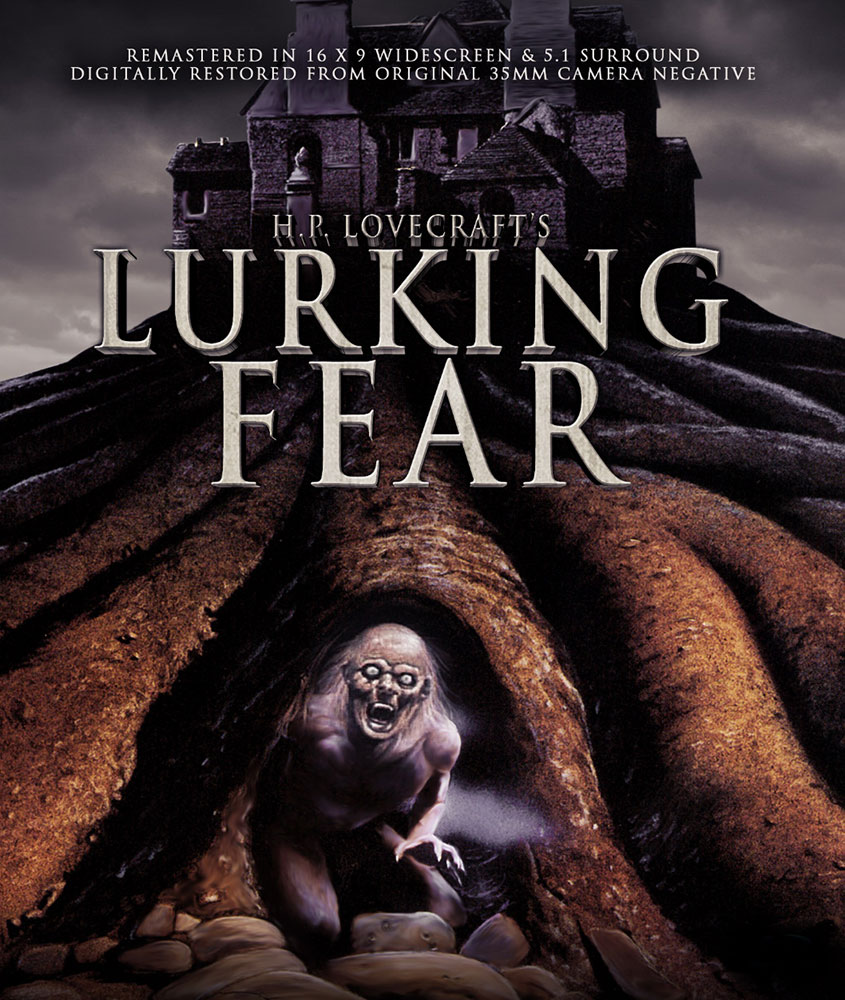 Lurking Fear Blu-ray Artwork from Full Moon