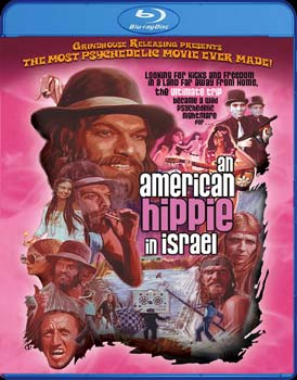 "Grindhouse Releasing Presents ""An American Hippie in Israel"" on Severed Cinema"