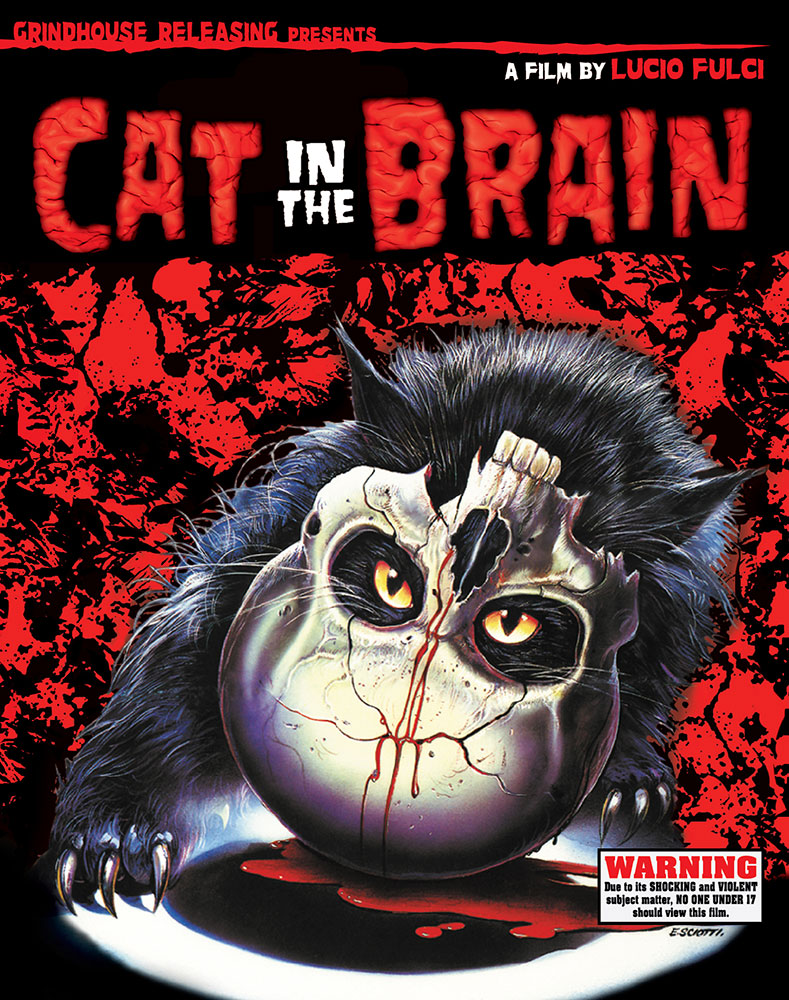 Severed Cinema News: Grindhouse Releasing Brings Lucio Fulci's Cat in the Brain to Theaters and Blu-Ray July 12th 2016!