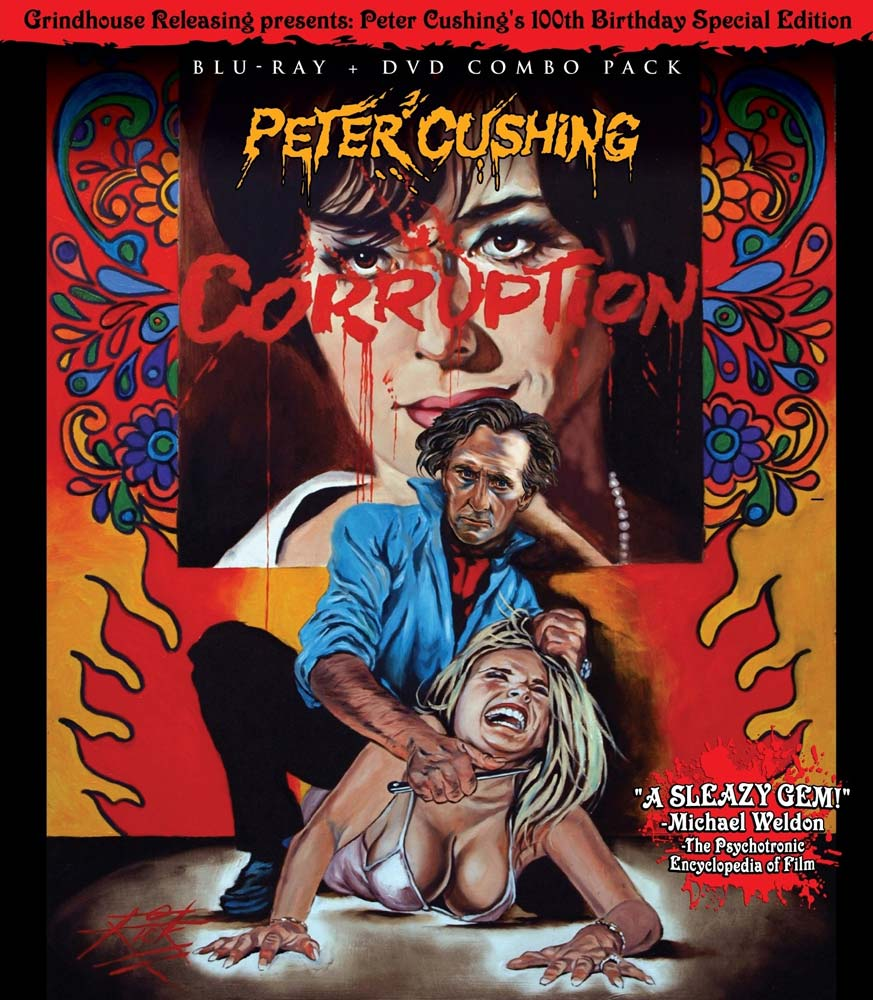 "Review of ""Corruption"" on Blu-ray and DVD Combo from Grindhouse Releasing on Severed Cinema."