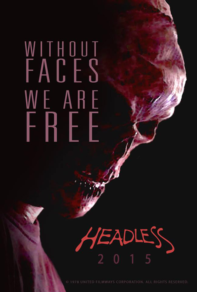Headless Promo Poster on Severed Cinema