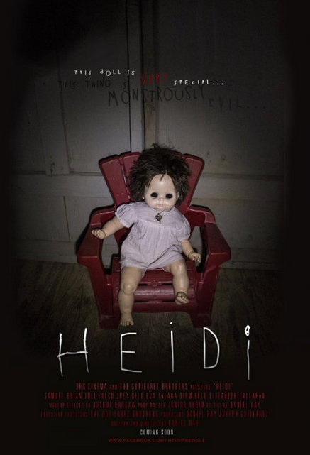 Heidi movie poster on Severed Cinema