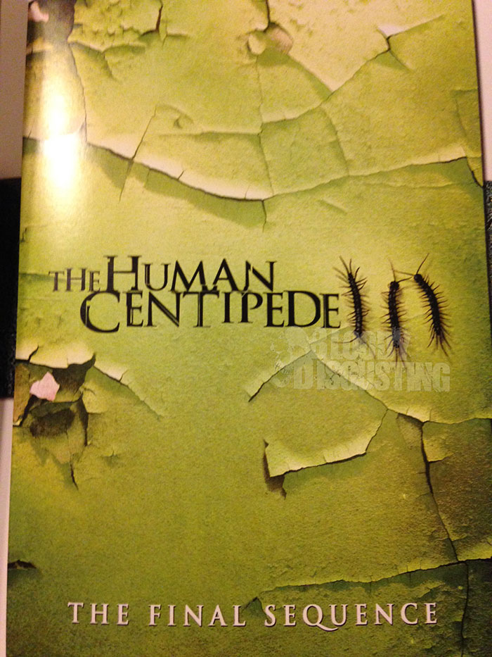 The Human Centipede III (The Final Sequence) Poster on Severed Cinema