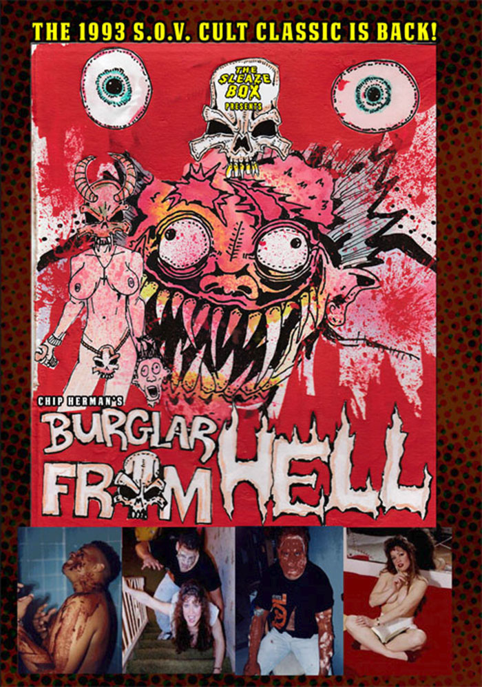 Burglar From Hell Poster on Severed Cinema