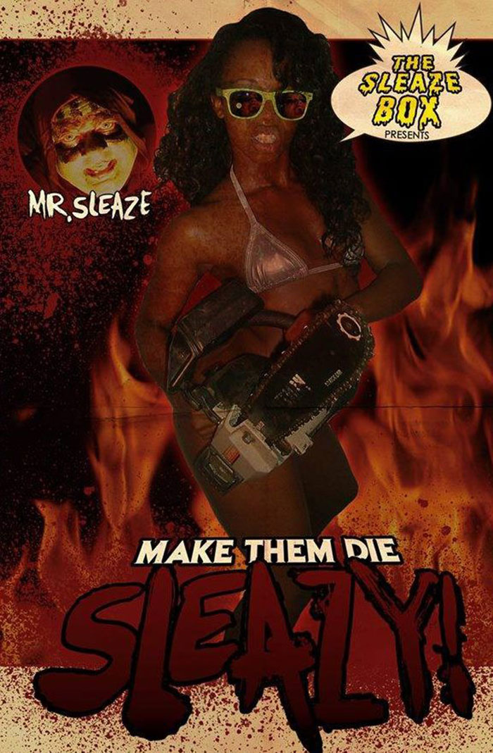 Make Them Die Sleazy Poster on Severed Cinema