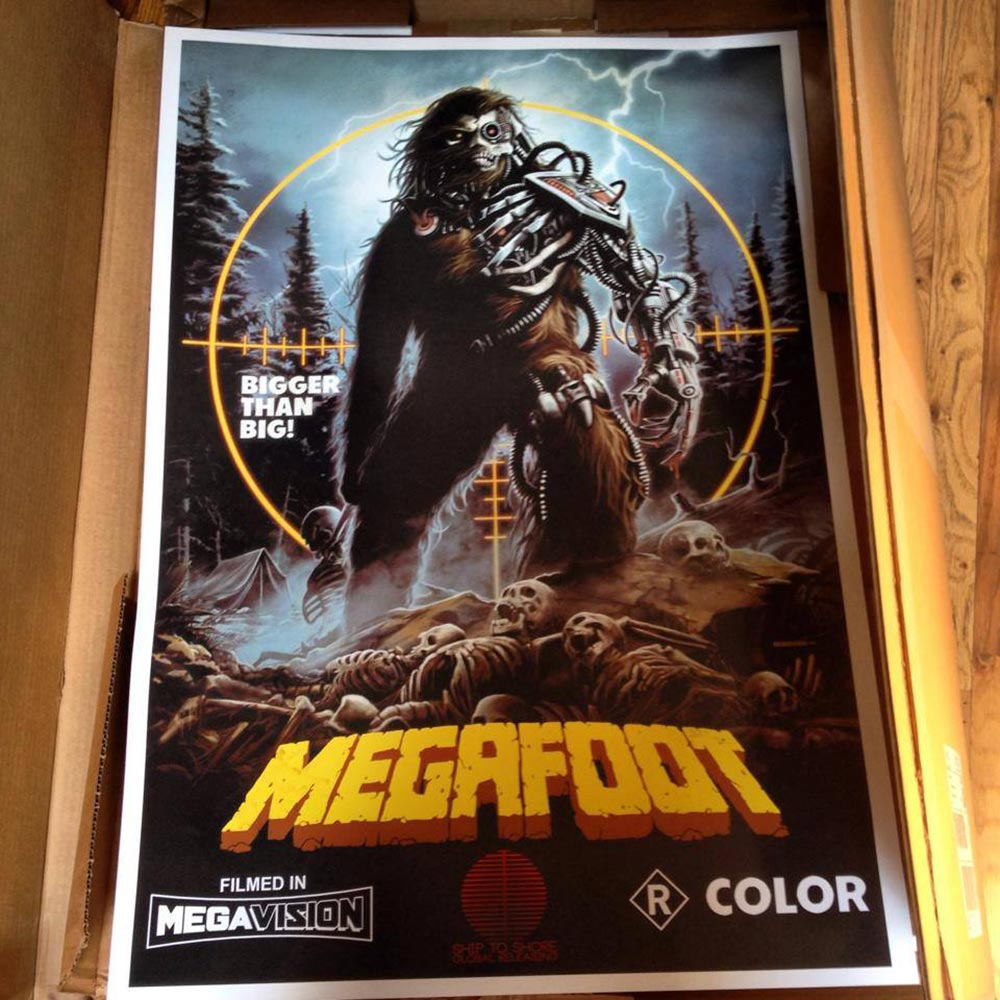 Megafoot Poster Art on Severed Cinema