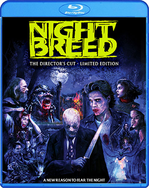 Nightbreed Limited Edition Blu-ray from Scream Factory on Severed Cinema