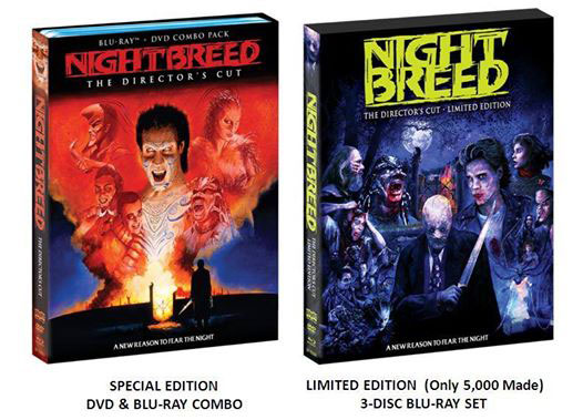 Nightbreed Special Edition and Limited Edition coming from Scream Factory on Severed Cinema