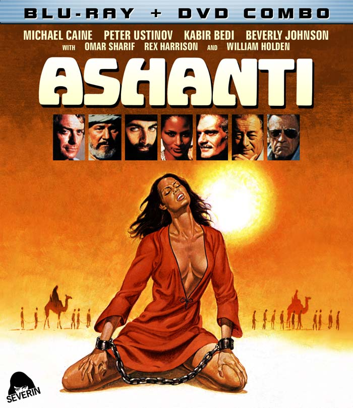 Blu-ray/DVD Combo Artwork for Ashanti on Severed Cinema