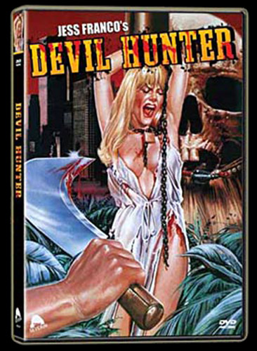 Devil Hunter DVD Art from Severin Films - www.Severed-Cinema.com