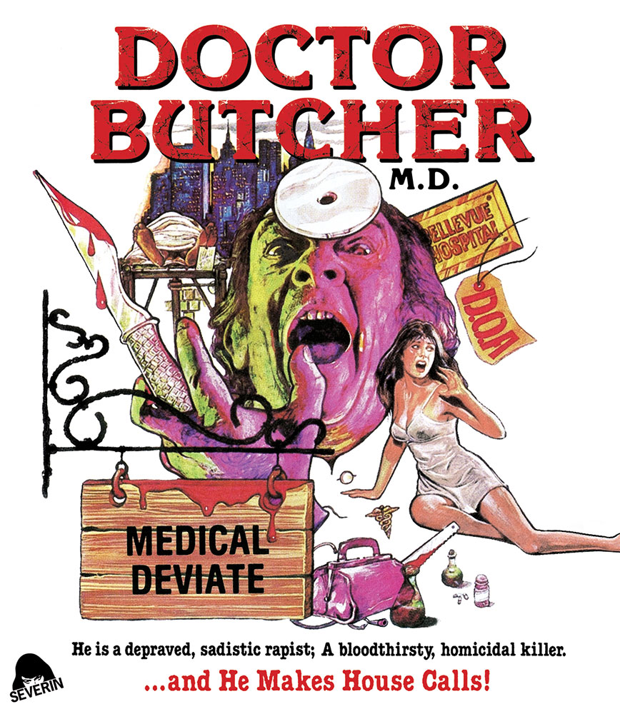 Doctor Butcher MD Blu-ray from Severin Films
