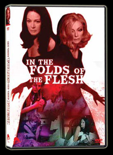 In the Folds of the Flesh DVD Art from Severin Films - www.Severed-Cinema.com