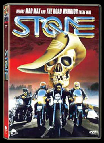 Stone DVD Art from Severin Films - www.Severed-Cinema.com