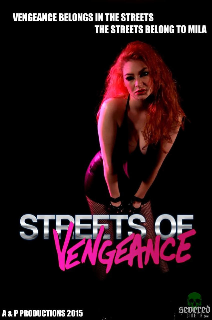 Streets of Vengeance Poster on Severed Cinema