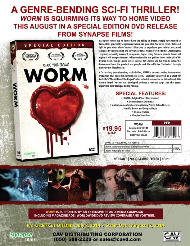 Worm from Synapse Films on Severed Cinema