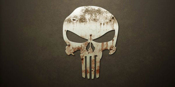 The Punisher Logo on Severed Cinema