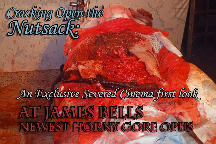 Cracking Open The Nutsack: An Exclusive Severed Cinema first look at James Bells newest horny gore opus.