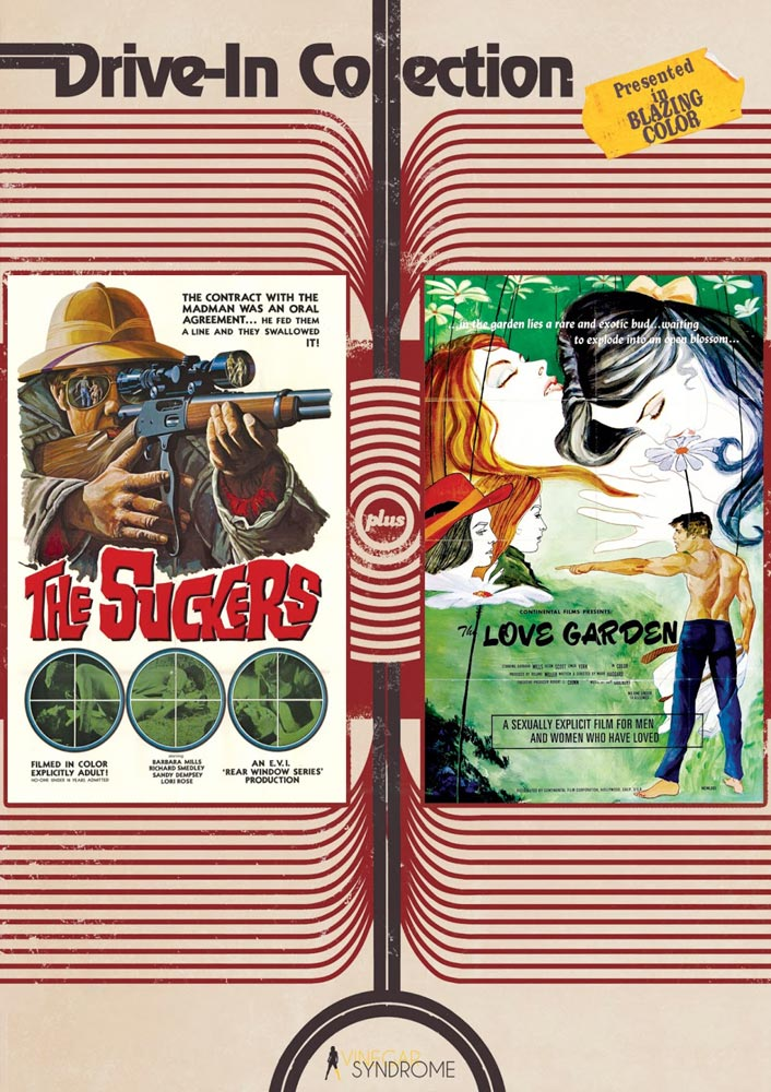 The Suckers and The Love Garden from Vinegar Syndrome on Severed Cinema