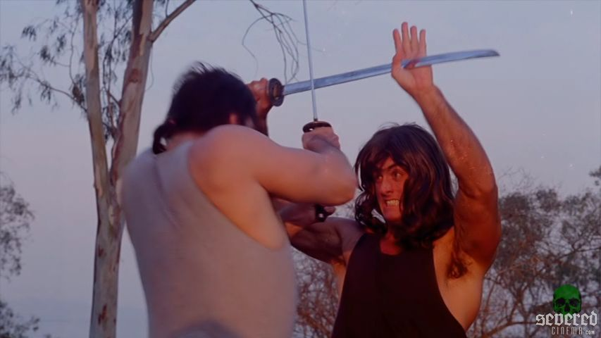 Samurai Cop Cinema Epoch DVD Screenshot on Severed Cinema
