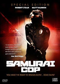 Cinema Epoch DVD Review of Samurai Cop on Severed Cinema