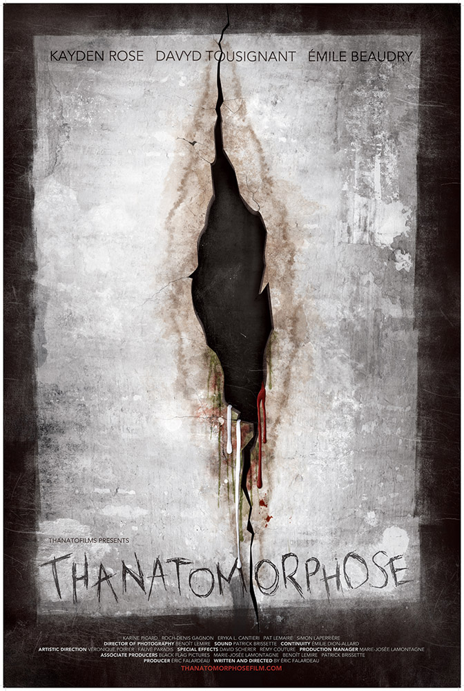 Severed Cinema review of Thanatomorphose available from Unearthed Films and Black Lava Entertainment