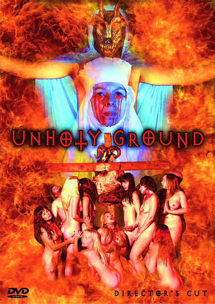 Severed Cinema review of the Director's Cut and X-tended Cut of Unholy Ground on 2-disc DVD from Black Lava Entertainment