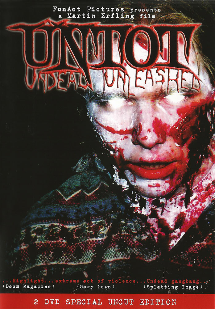 Severed Cinema review of the German splatter instant classick Untot: Undead Unleashed on DVD from FunAct Pictures