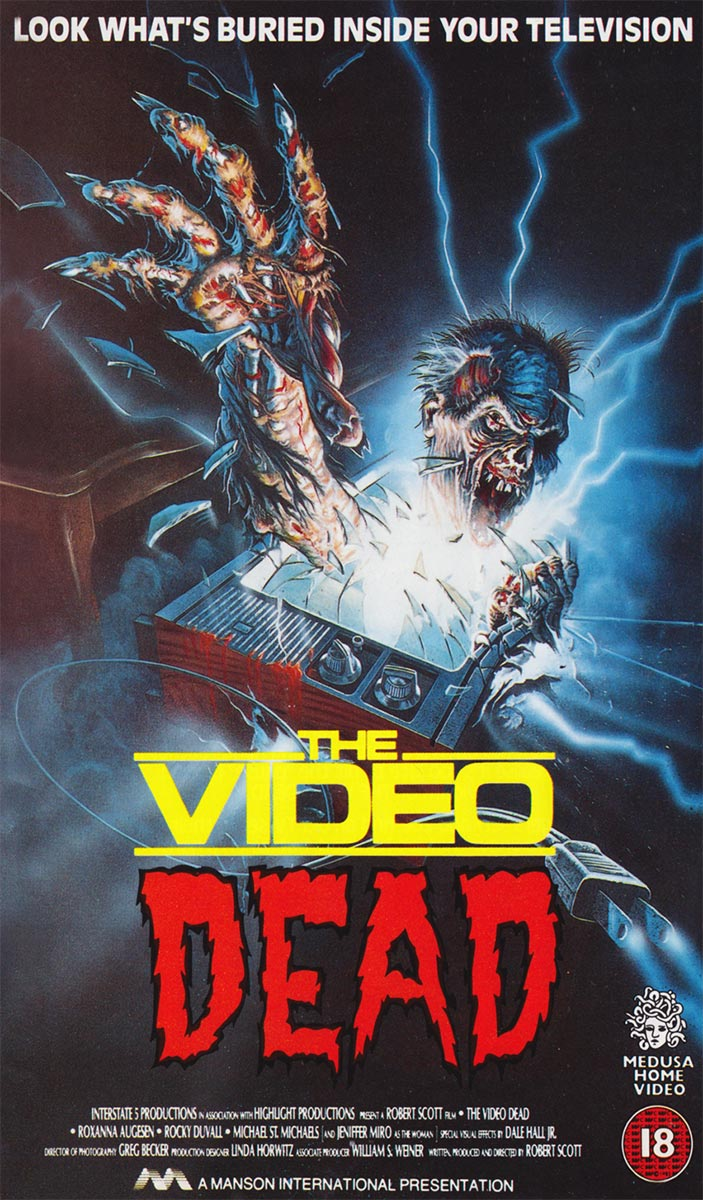 Review of The Video Dead on Severed Cinema