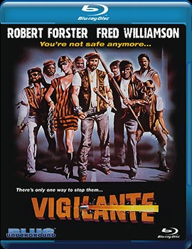 Review of Vigilante released by Blue Underground on Severed Cinema.