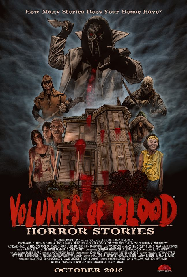 Severed Cinema review of Volumes of Blood: Horror Stories from Verite Cinema