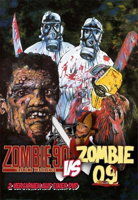 Review of Zombie 90 Extreme Pestilence on DVD from Cine Club.